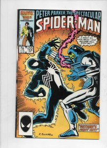 Peter Parker SPECTACULAR SPIDER-MAN #122 FN+, Father 1976 1987 more in store