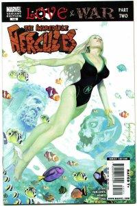 INCREDIBLE HERCULES #122, NM-, Variant, vs Sub-Mariner Marvel Zombie Suydam 2008