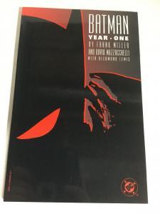 Batman Year One Fourth Print Nm Near Mint DC Comics SC TPB