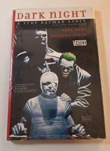 Dark Night: A True Batman Story HC Graphic Novel New Sealed Paul Dini Vertigo