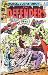 Defenders, The #35 (May-76) VF/NM High-Grade Hulk, Dr. Strange, Valkyre, Nigh...