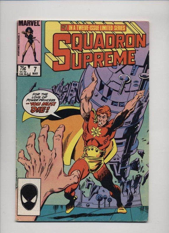Squadron Supreme #7 (1986)
