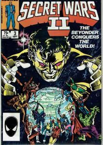 Secret Wars II #3 & 4, 9.0 or Better
