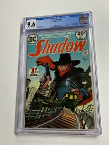The Shadow 1 Cgc 9.6 Ow/w Pages Dc Comics Bronze Age Mike Kaluta 2040156007