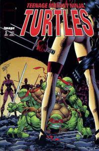 Teenage Mutant Ninja Turtles (3rd Series) #2 VF/NM; Image   save on shipping - d