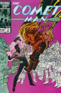Comet Man #2 VF; Marvel | save on shipping - details inside