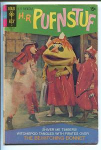 H.R PUFNSTUF #4 1971-GOLD KEY-SID & MARTY KROFT-TV SERIES-vg