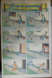 The Teenie Weenies Sunday by Wm. Donahey from 12/16/1923 Full Page Size