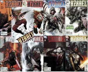 AZRAEL (2009) 1A,2-9  complete Nicieza Suit of Sorrows COMICS BOOK