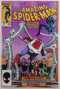 Amazing Spider-Man #263  1st Normie Osborn Red Goblin  NM  Marvel 1984