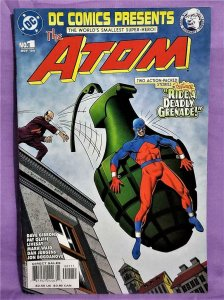 Julie Schwartz Tribute DC COMICS PRESENTS THE ATOM #1 Bolland Cover (DC, 2004)!