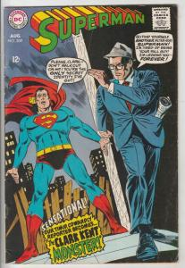 Superman #209 (Aug-68) FN+ Mid-High-Grade Superman, Jimmy Olsen,Lois Lane, La...