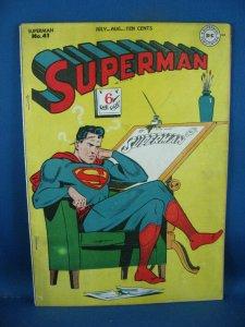 SUPERMAN 41 F 1946