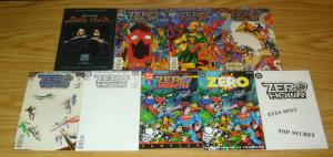 Zero Hour #0 & 1-4 VF/NM complete series + ashcan + sampler + poster + (2) more