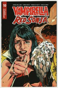 Vampirella Red Sonja #10 Mooney 1:7 Homage Variant (Dynamite, 2020) NM-