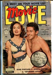 Movie Love #5 1950-Famous Funnies-Ann Blyth-Howard Duff-Farley Granger-G