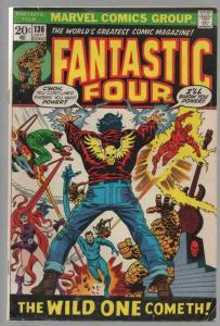 FANTASTIC FOUR 136 VG+  July 1973