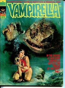 Vampirella #29 1973-Warren-Vampi cover-horror & mystery stories-FN