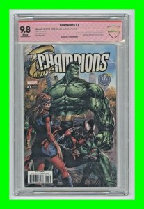 Champions #1 2016 Marvel 1st app of New Champions Signed Tyler Kirkham CBCS 9.8