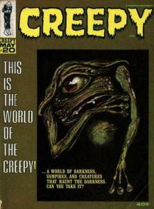 Creepy (1964 series) #20, Fine+ (Stock photo)