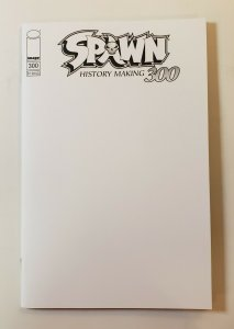 Spawn #300 Image Comics 2019 Blank Variant Cover first Print NM+