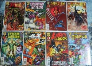 AMALGAM (1997) SET OF 12 Bat Thing, Dark Claw, Iron Lan