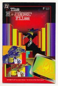 Hacker Files (1992) #1 VF