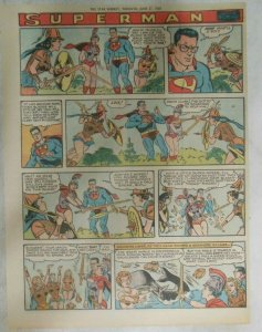bvSuperman Sunday Page #1026 by Wayne Boring from 6/28/1959 Tabloid Page Size