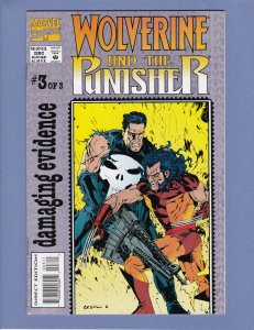 Wolverine and the Punisher #3 VF/NM