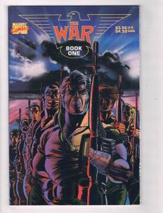 The War #1 VF TPB Marvel Comics Book One Comic Book 1989-1990 DE39 AD12