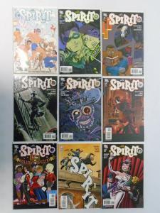 Spirit Set;#7-15, 6 Different,8.0/VF (2007+2008)