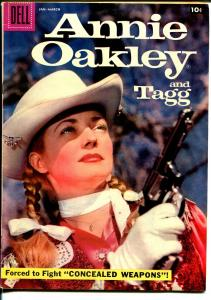 Annie Oakley and Tagg #14 1958-Dell-Gail Davis TV series photo cover-VF-