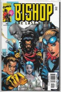 Bishop: The Last X-Man   # 2 A VF Joseph Harris/Jeanty, cover: Yu