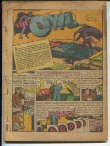 Crackerjack Funnies #29 1940-Owl-Red Ryder-ERB & Tarzan-P