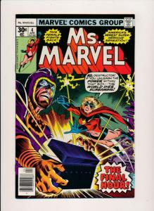 Marvel Comics Ms. Marvel  #4 - The Final Hour 1976 VERY FINE (HX787)