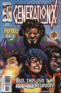 Marvel GENERATION X #60 NM