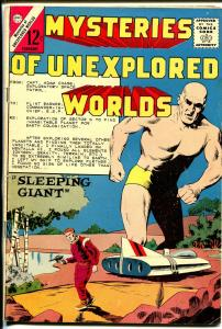 Mysteries of Unexplored Worlds #40 1964-Charlton-Daniel Boone-giant-VG