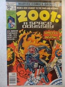 2001 : A SPACE ODYSSEY # 4 MARVEL SCI-FI KIRBY