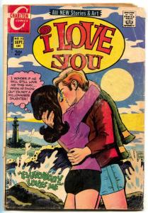 I Love You #93 1971-  Charlton Romance comic- VG
