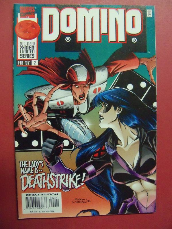 DOMINO  #2  (9.0 to 9.2 or better)  MARVEL COMICS