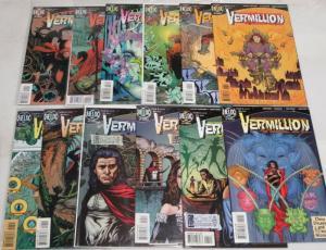 VERMILLION (1996 HELIX) 1-12 Totleben fantasy series