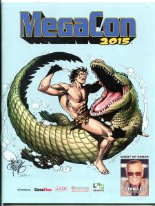 MegaCon Orlando Program Book 2015-Stan Lee-convention info VF