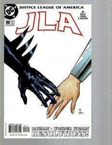 12 DC Comics JLA # 90 91 92 93 95 98 100 104 106 107 108 109 J438