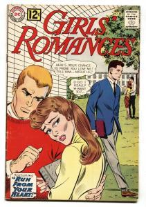 GIRLS' ROMANCES #88 comic book 1962-DC ROMANCE-VG/FN