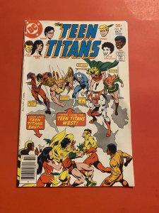 Teen Titans #50 (1977)vs west coast Titans