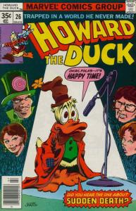 Howard the Duck (Vol. 1) #26 FN; Marvel | save on shipping - details inside