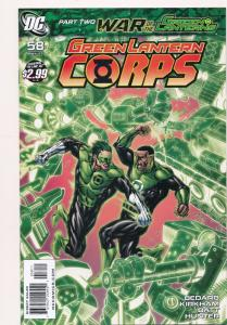 Green Lantern Corps, #58 ~ DC Comics 2011 ~ NM (HX549)