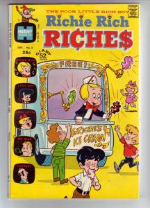 Richie Rich Riches #2 (Sep-72) VF- High-Grade Richie Rich