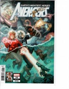 Avengers (2018) 20 NM (9.4) Alternate cover
