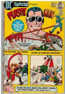 DC SPECIAL 15 VG Dec. 1971  Plastic Man